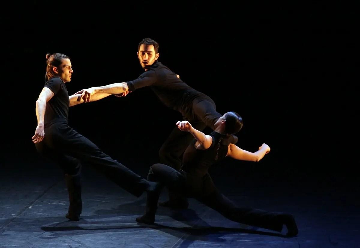 Sentieri with Andrea Risso, Christian Fagetti and Alessandra Vassallo, photo by Brescia e Amisano ©Teatro alla Scala