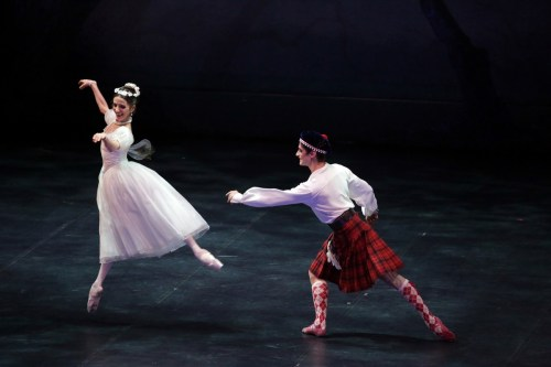 la Sylphide with Vittoria Valerio and Nicola Del Freo, photo by Brescia e Amisano © Teatro alla Scala