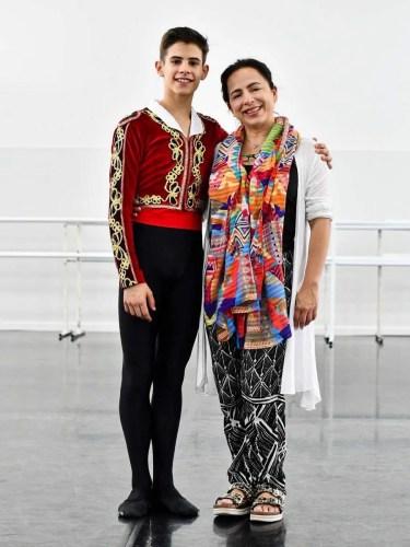 António Casalinho with Annarella Roura Sanchez. Photo by Zrg Dance Photography