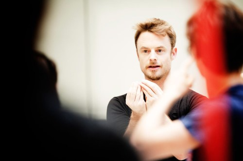 Christopher Wheeldon in rehearsals for Alice's Adventures in Wonderland © ROH, Johan Persson, 2011