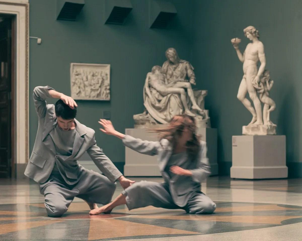 Dancers - Michelangelo Hall - choreographer Anna Shchekleina