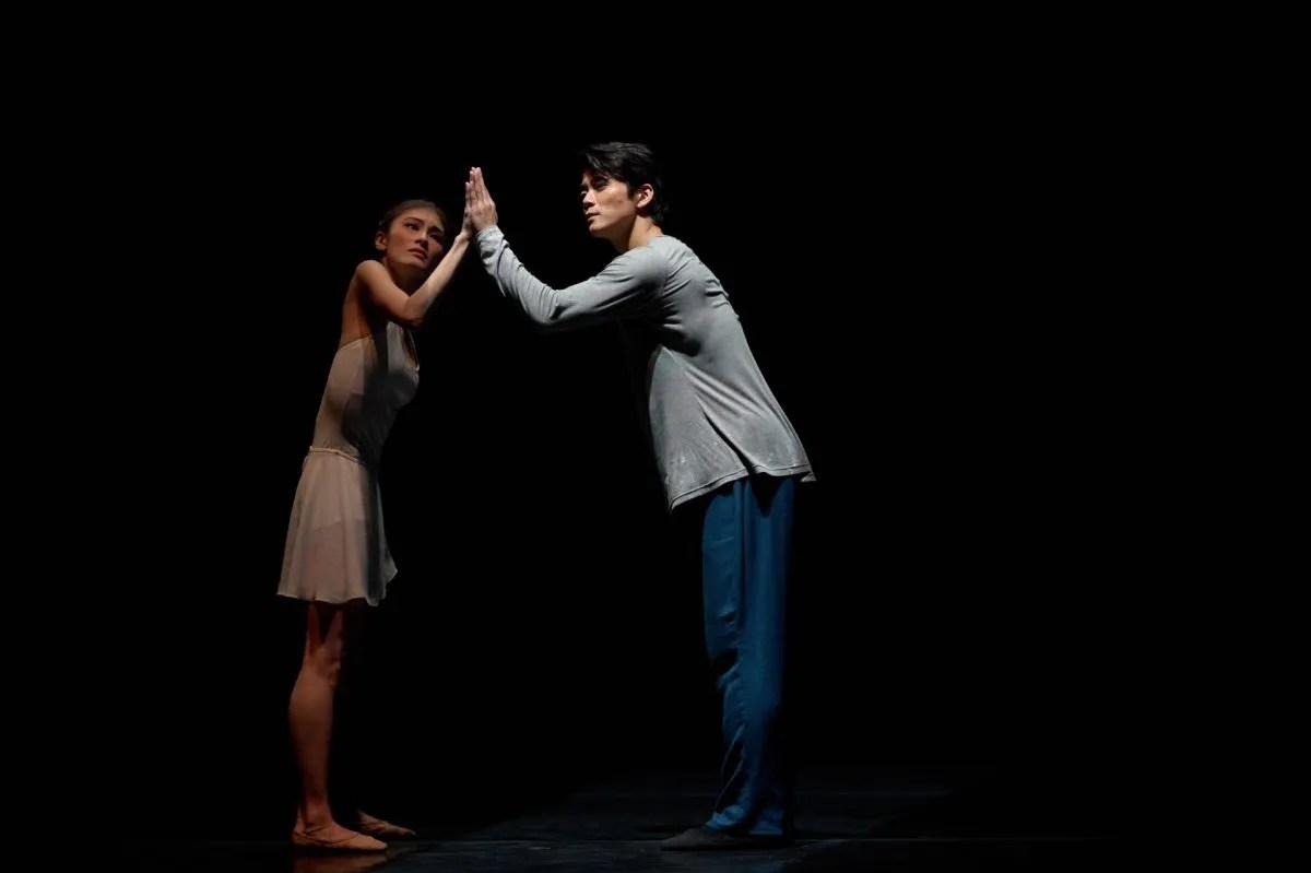 Dancers (from left) Nana Sakai, Shen Jie, photography by Conrad Dy-Liacco