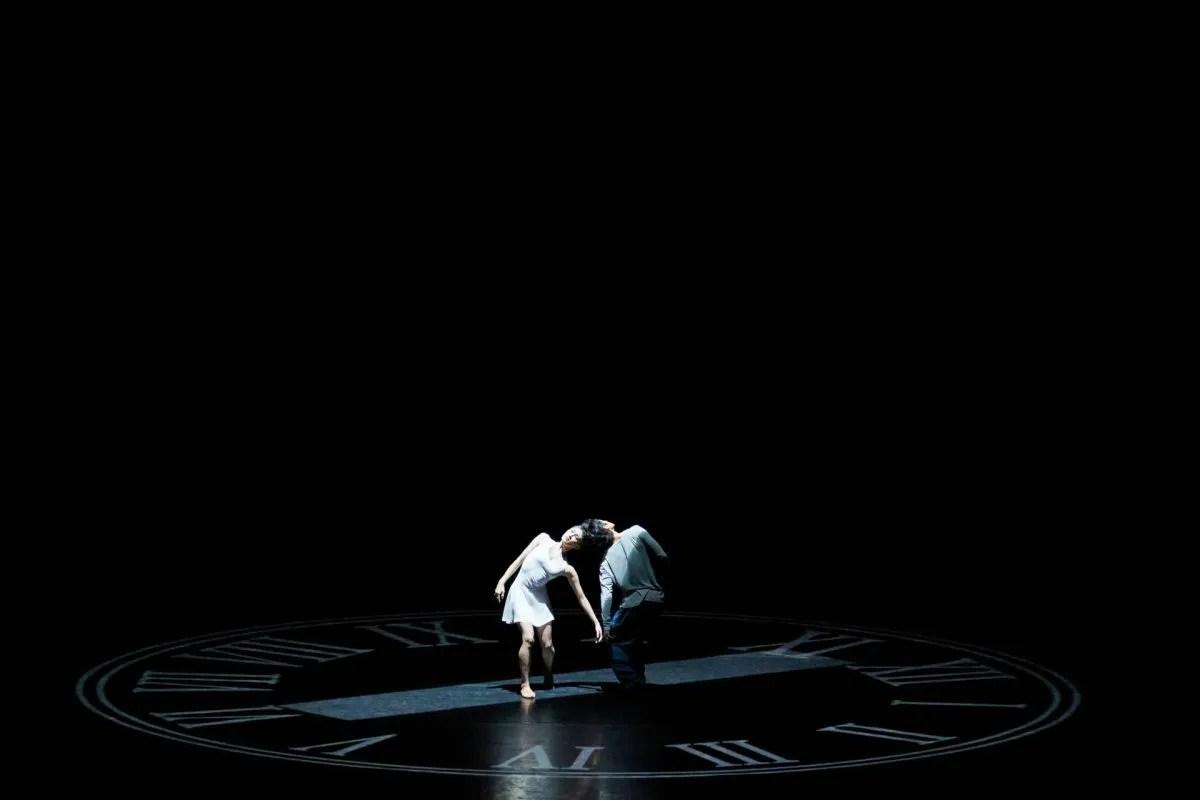 Dancers (from left) Nana Sakai, Shen Jie, photographyby Conrad Dy-Liacco