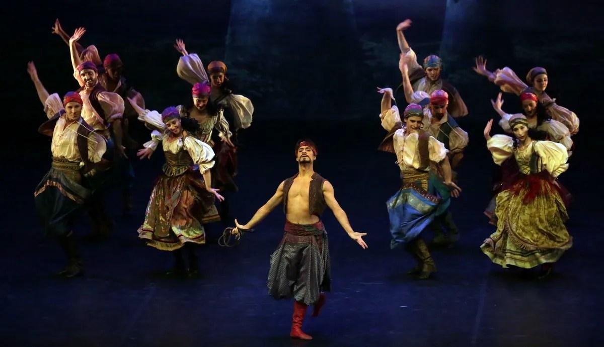 Don Quixote - Federico Fresi e il Corpo di Ballo , photo by Brescia e Amisano ©Teatro alla Scala