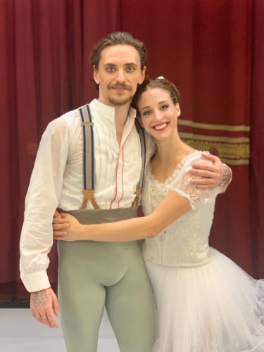 Backstage with Sergei Polunin