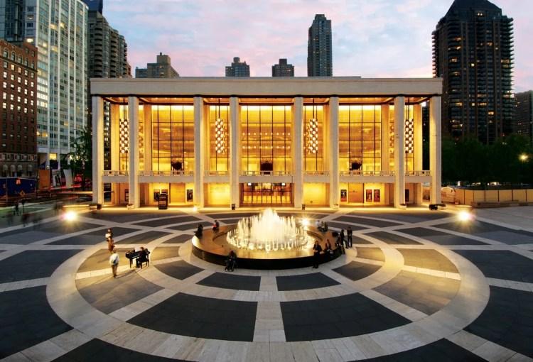 David H Koch Theater at Lincoln Center, photo by Jon Simon