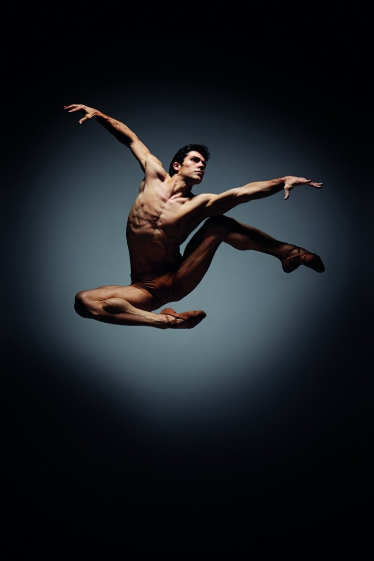 Roberto Bolle, photo by Giovanni Gastel 2013
