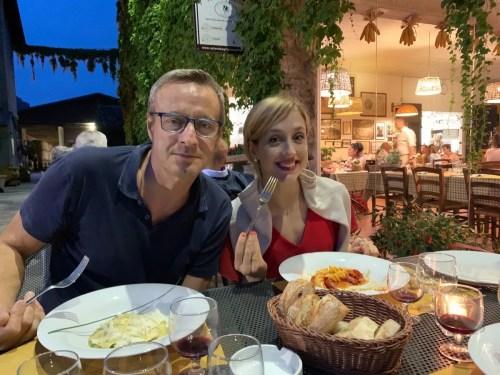 Virna with papà