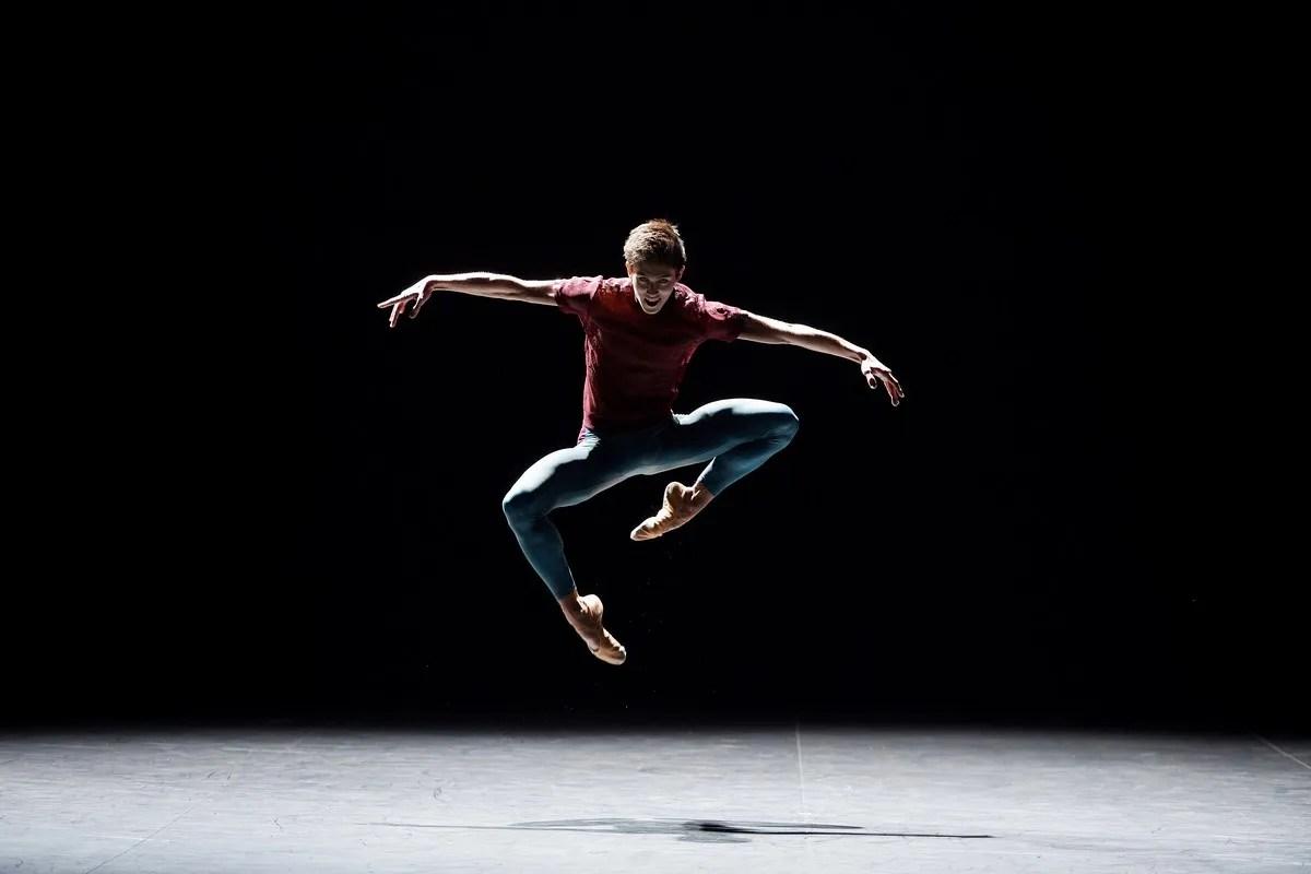 English National Ballet dancer Erik Woolhouse in Playlist Track 12 by William Forsythe © Laurent Liotardo