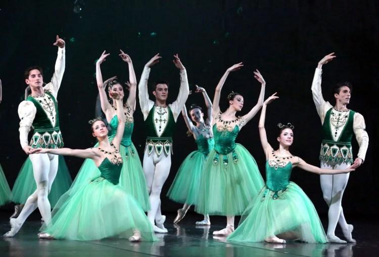 Jewels - Emeralds - choreography by George Balanchine © The Balanchine Trust, photo by Brescia e Amisano © Teatro alla Scala