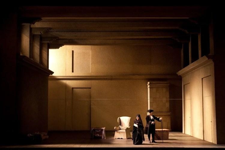 Le nozze di Figaro - Giorgio Strehler, photo Bescia e Amisano, Teatro alla Scala