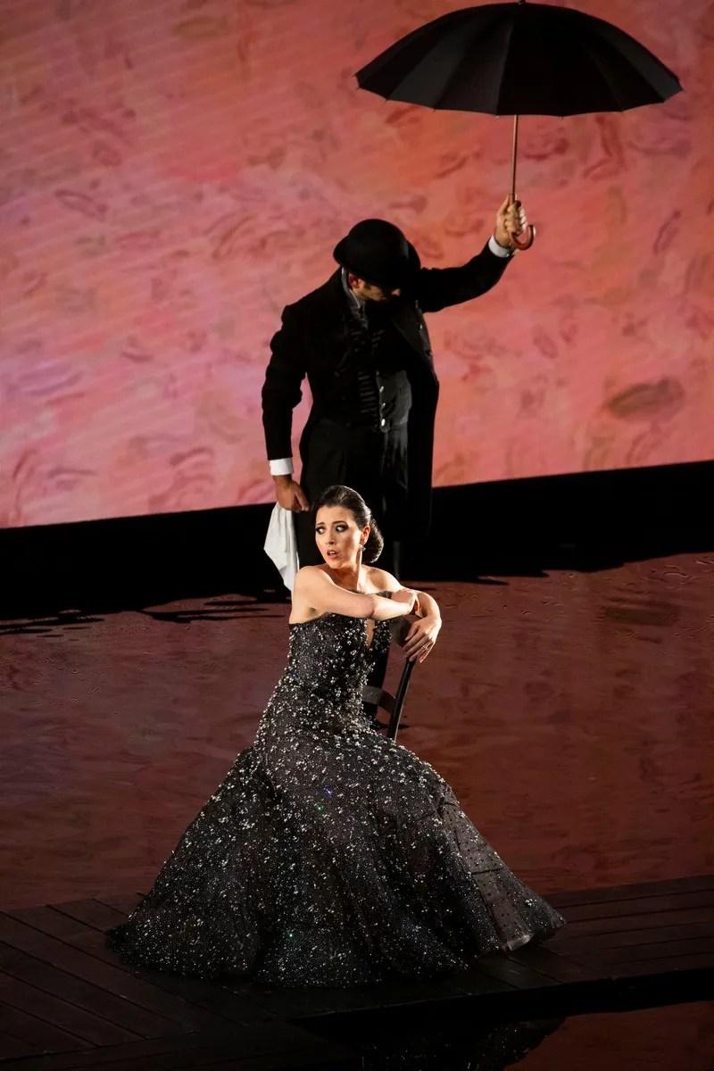 Lisette Oropesa in Armani, A riveder le stelle, 2020 - photo Brescia e Amisano © Teatro alla Scala