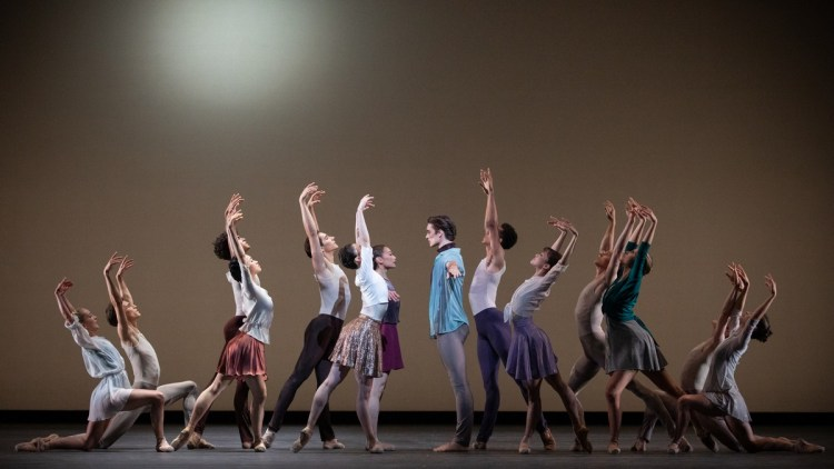 Artists of the Royal Ballet in Anemoi, The Royal Ballet ©2021 ROH. Photograph by Alice Pennefather