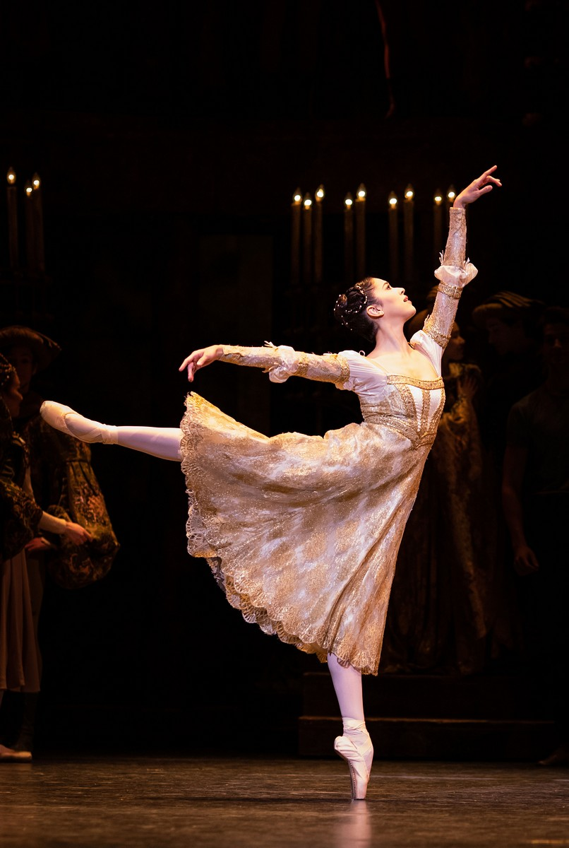 Beatriz Stix-Brunell in Romeo and Juliet photo by Helen Maybanks ROH