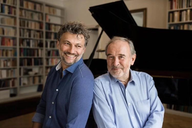 Jonas Kaufmann and Helmut Deutsch © Lena Wunderlich, Sony Classical