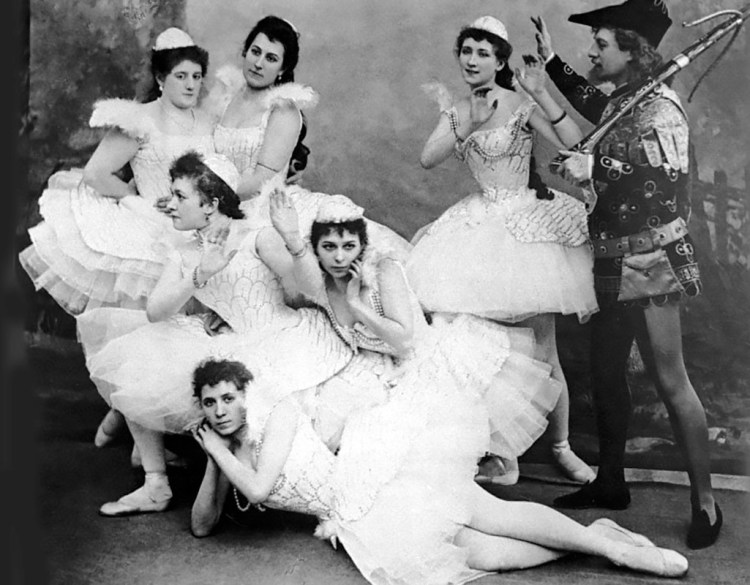 Swan Lake, Mariinsky Theatre, 1895