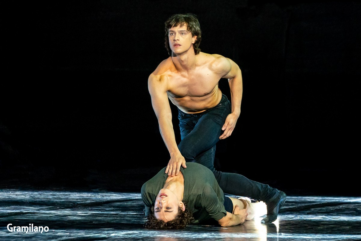 Jacopo Bellussi and Alessandro Frola in Peter and Igor, Stravinsky's Love © Graham Spicer