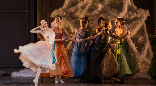 The Nutcracker with Rebecca Bianchi, Rome Opera Ballet, photo by Yasuko Kageyama