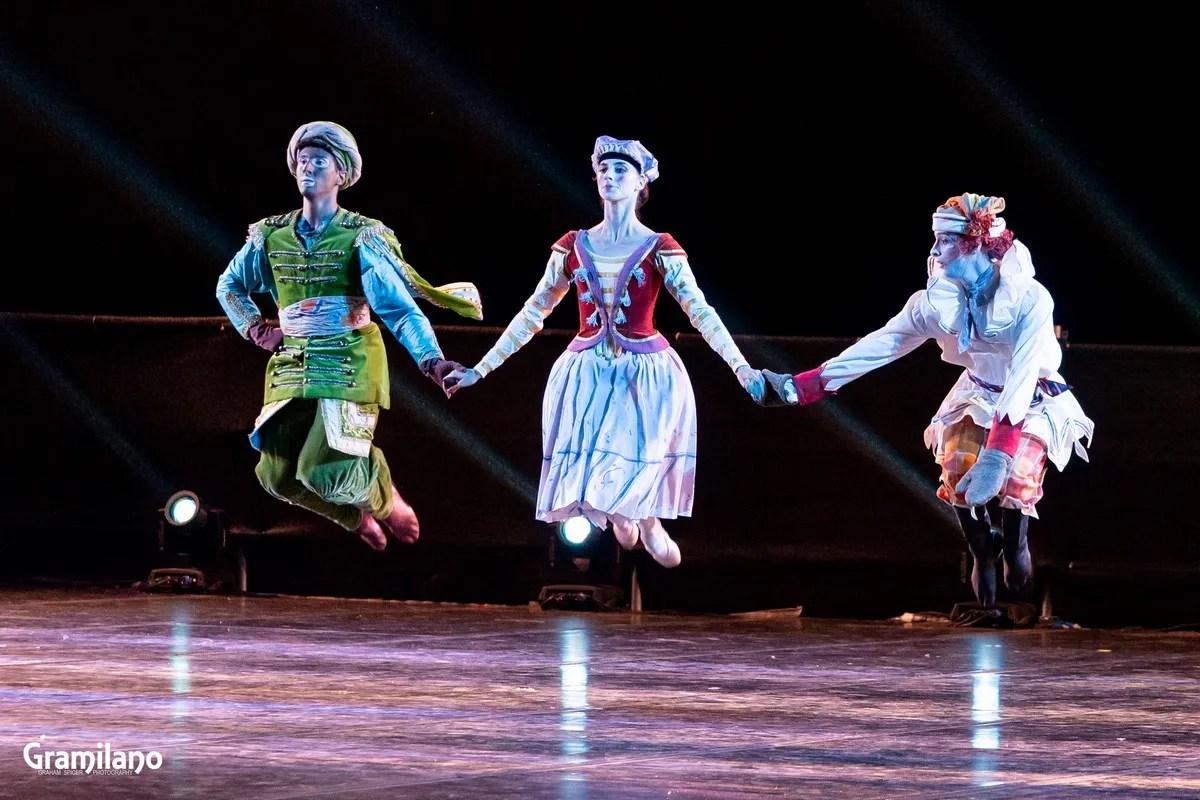 Tommaso Beneventi, Susanna Elviretti and Mattia Tortora in Petrushka, Stravinsky's Love © Graham Spicer_1