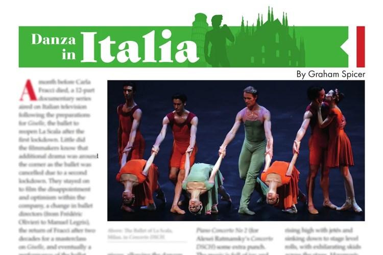 Danza in Italia - August