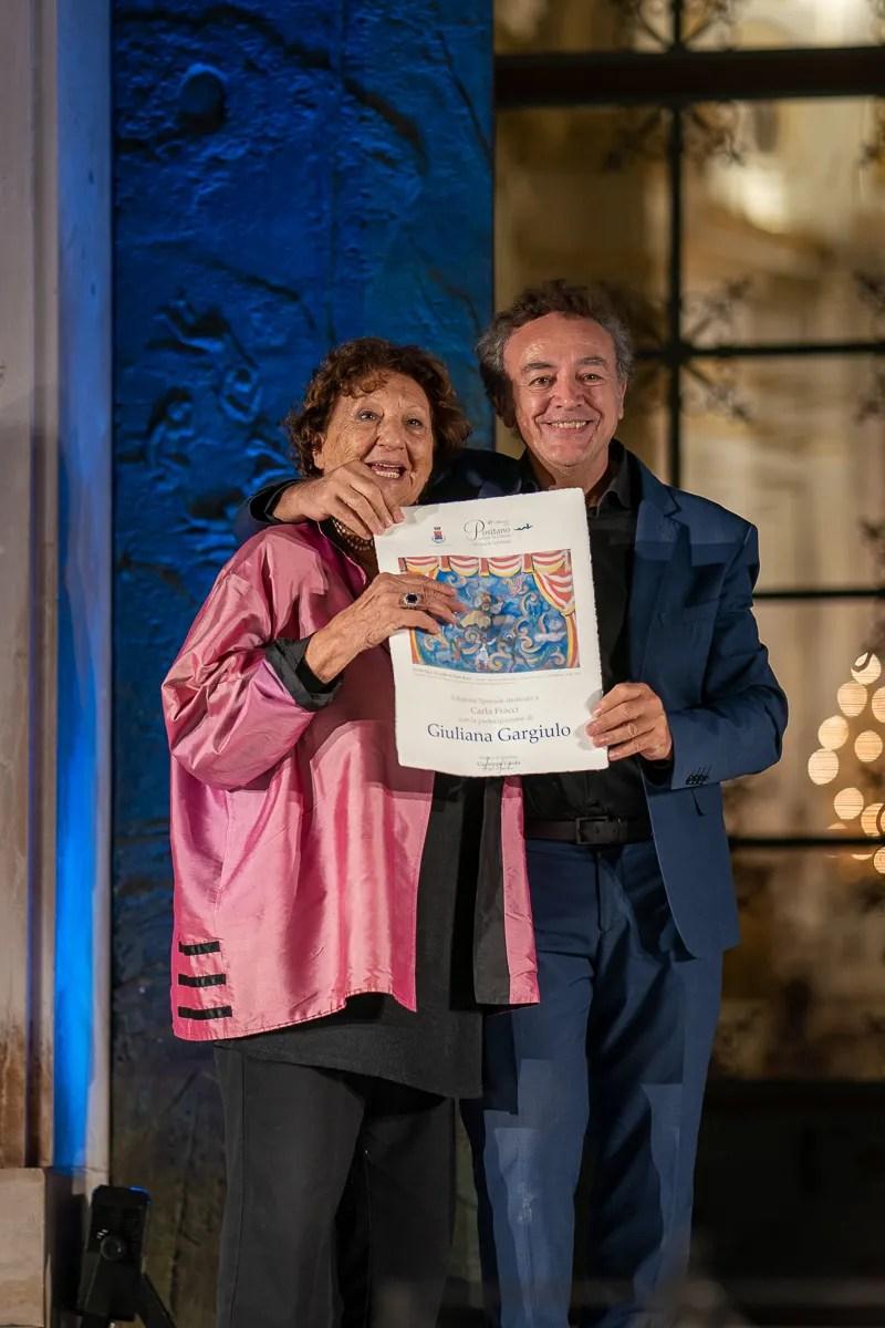 Giuliana Gargiulo with Luciano Romano