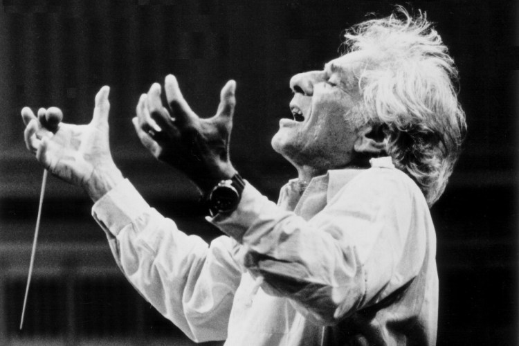 Leonard Bernstein by Paul de Hueck, courtesy of the Leonard Bernstein Office
