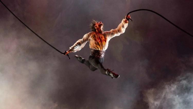 Sergei Polunin in Inferno, photo by Silvia Lelli