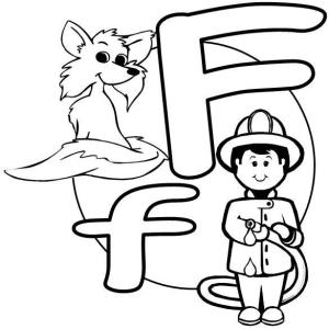 The Letter F f The English Alphabet