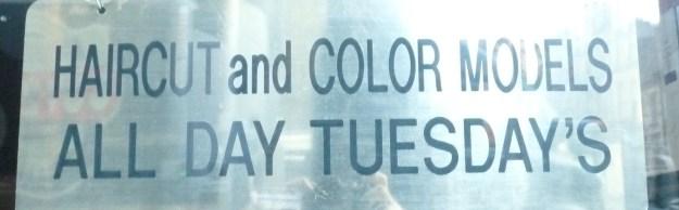 Tuesday's. Sigh.