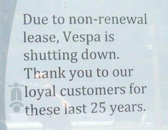 Non-renewal?