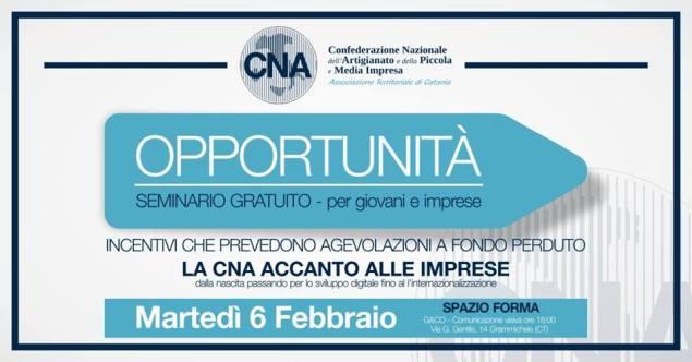 Opportunità - Seminario gratuito - Per giovani e imprese