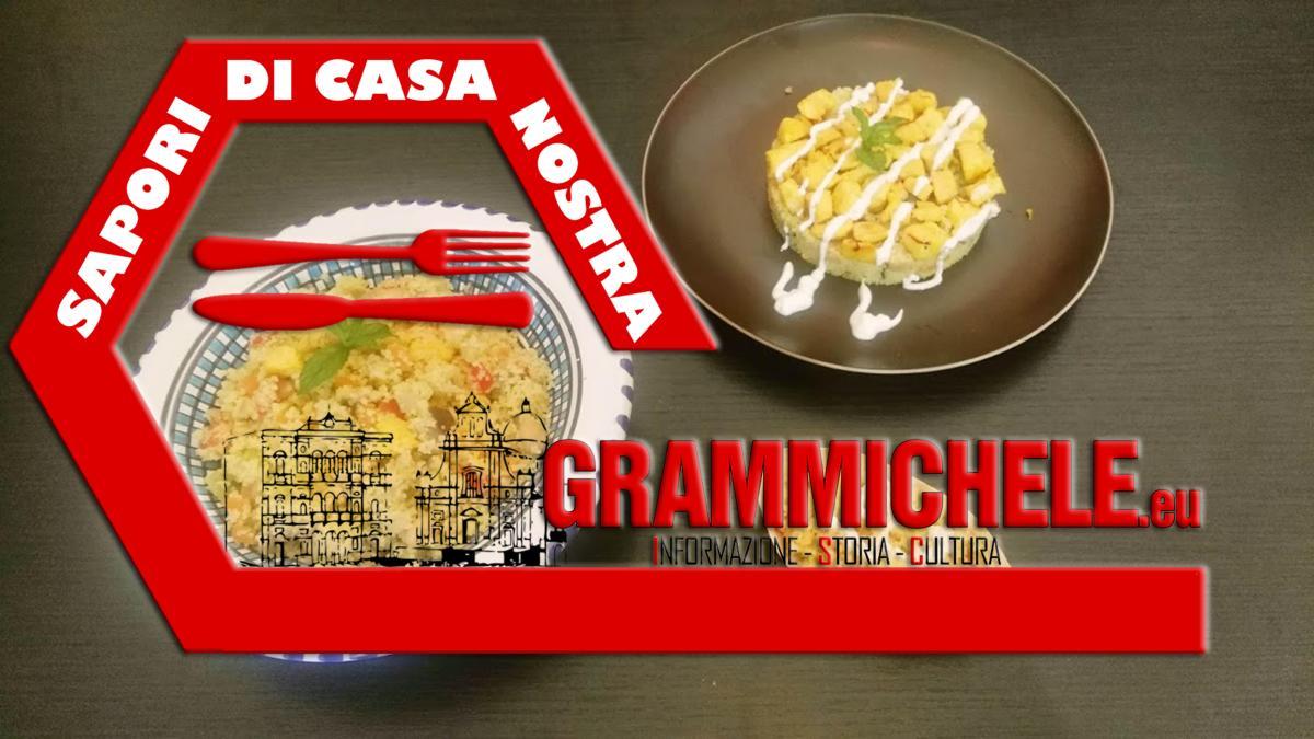 """""""SAPORI DI CASA NOSTRA"""" - couscous di verdure con pollo e zafferano"""