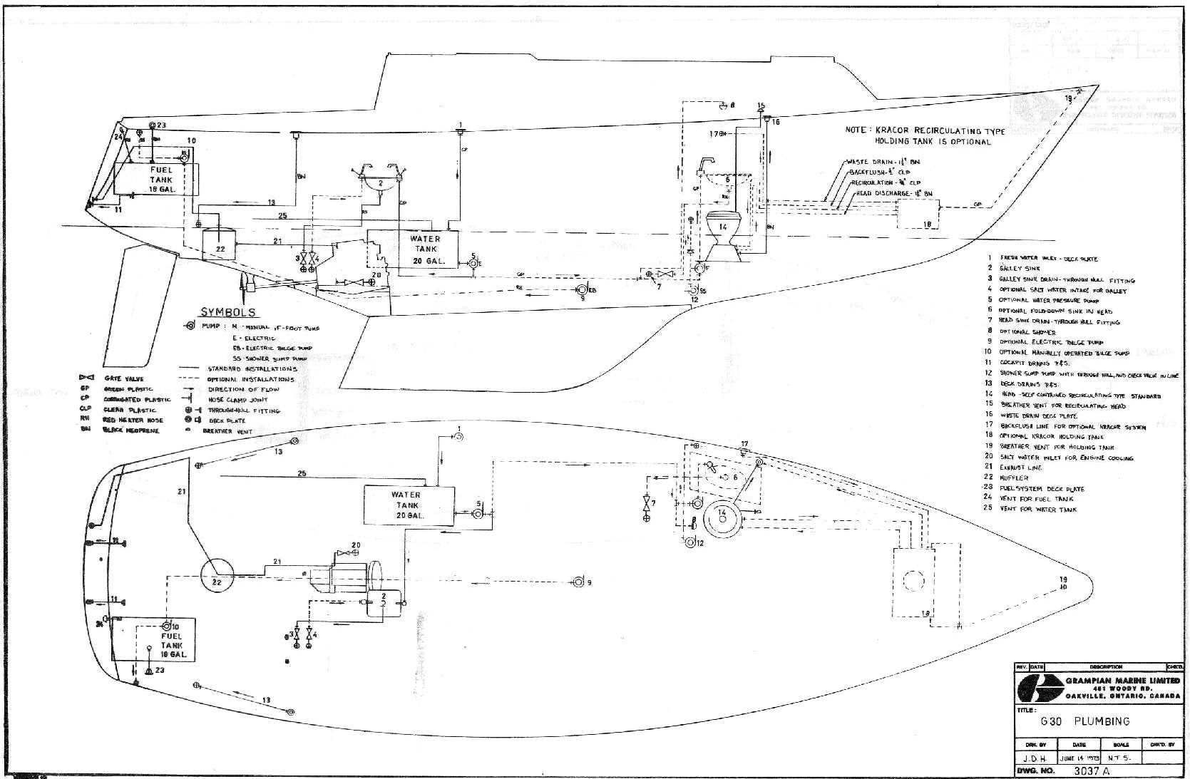 Grampian 30 Diagrams