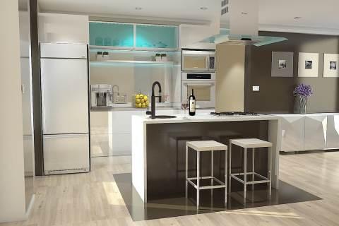 Ventajas de la creación de una cocina abierta