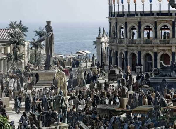 Agora, Alexandria under the Pagans