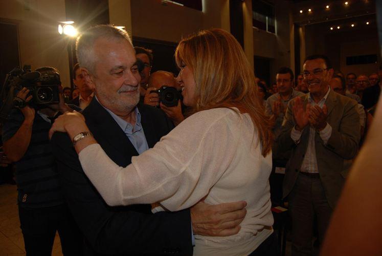 Griñán y Susana Díaz