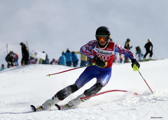 competicion en sierra nevada el pasado año
