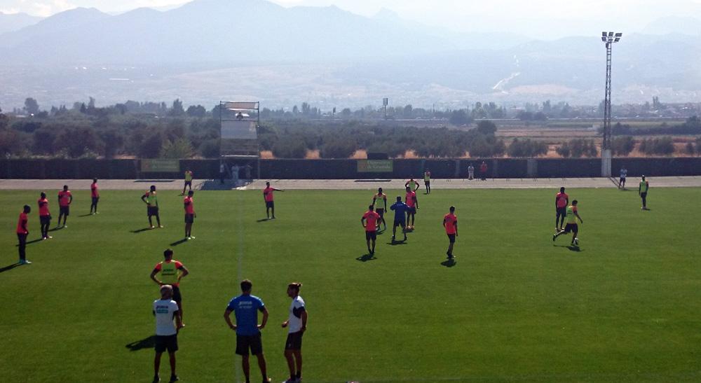 Granada CF entreno