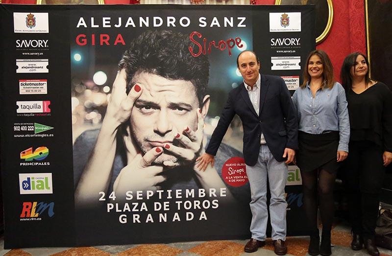 Alejandro Sanz gira Sirope