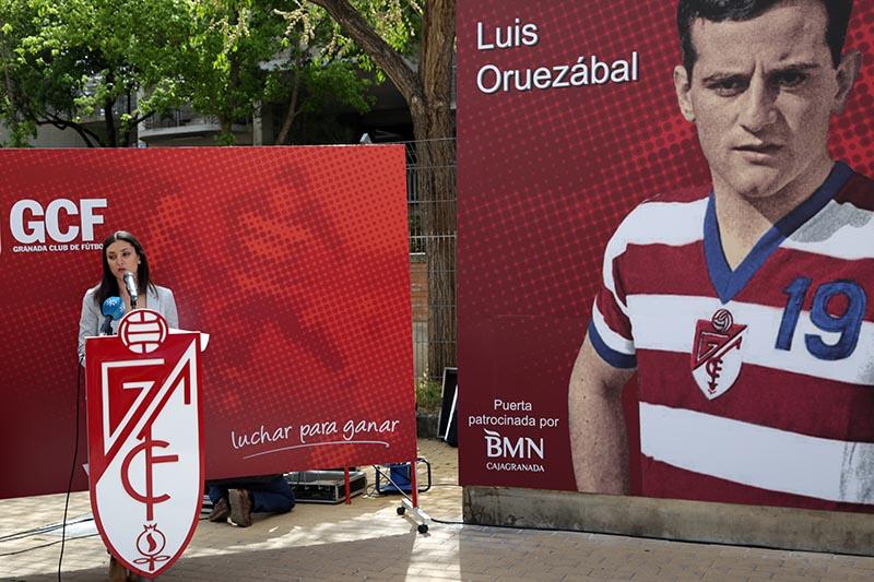 Homenaje Luis Oruezábal Chikito Granada CF 1