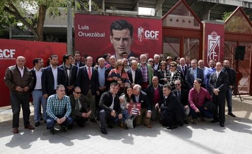 Homenaje Luis Oruezábal Chikito Granada CF 3