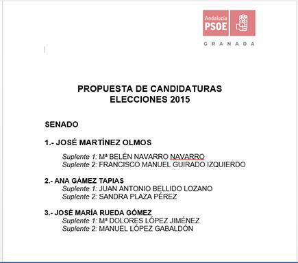 candidatura senado