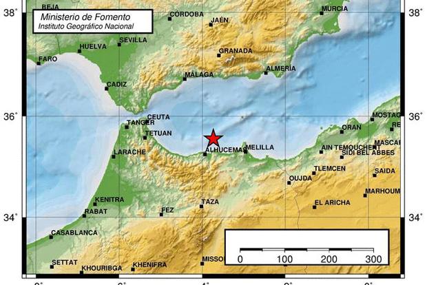 terremoto alhucemas