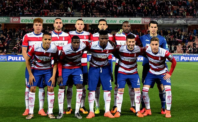 granada sporting once inicial