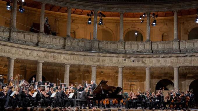 sinfonica palacio de carlos v festival musica y danza