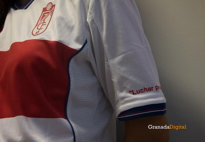 Presentación Primera equipación camiseta Granada CF rojiblanco-14