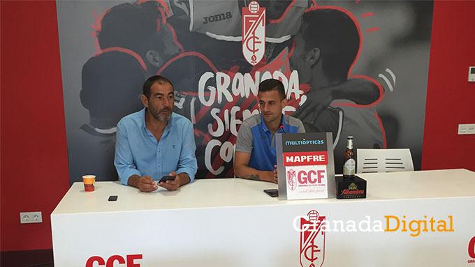 Rueda de prensa Javi Márquez y Rufete