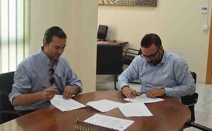 Óscar Fernández y Leandro Martín FundaciónCB