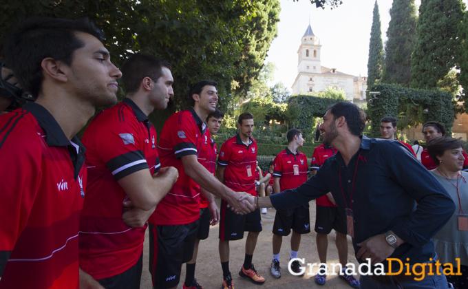 Presentacion nueva camiseta fundacion CB Granada