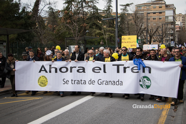 Manifestacion AVE Febrero 2017 marea amarilla-15